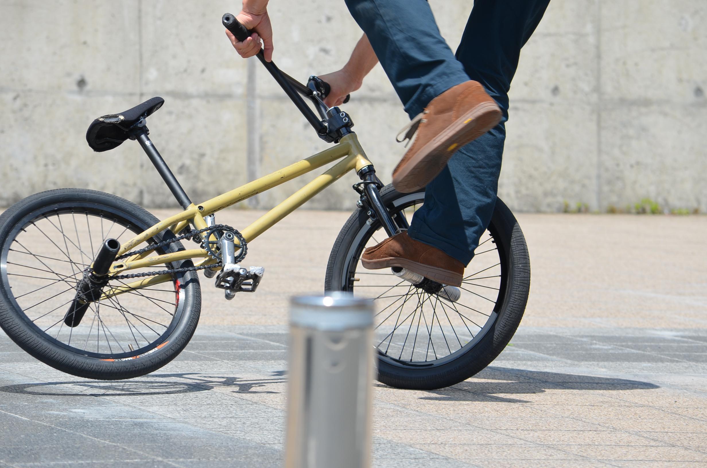 bmx riding skills the guide to flatland tricks