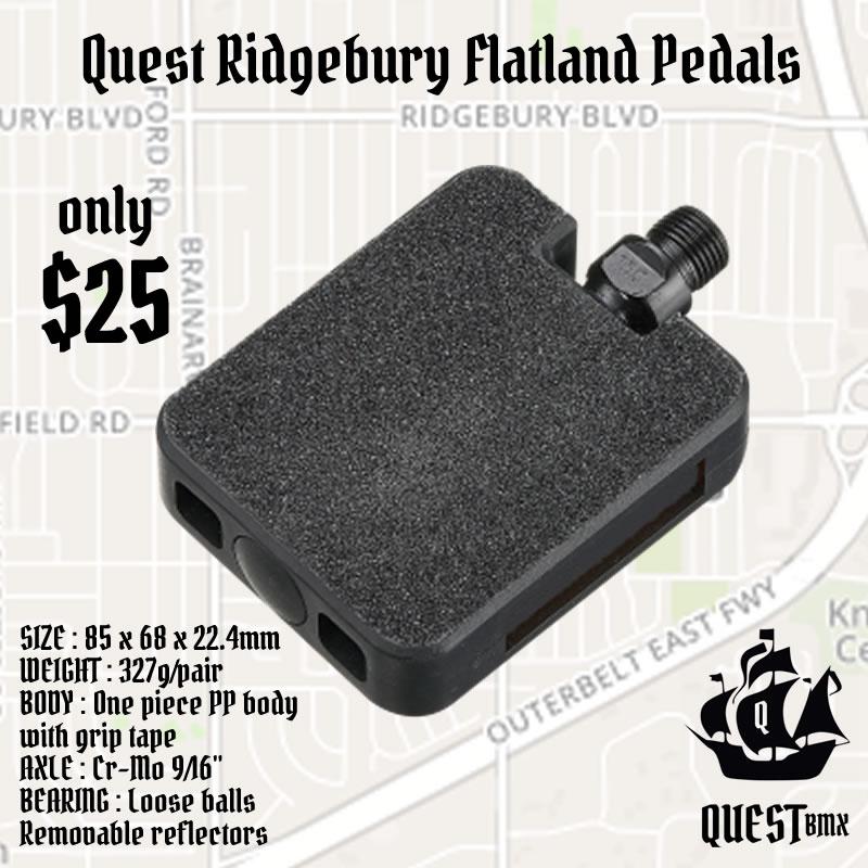 ridgebury pedals ad